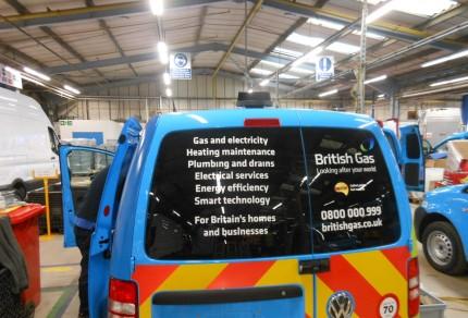 Flettner 2000 on a British Gas Van