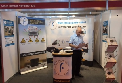 Flettner at The CV Show 2016