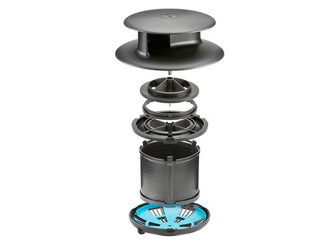 Adattatore per condotto di ventilazione Flettner TCX-2/